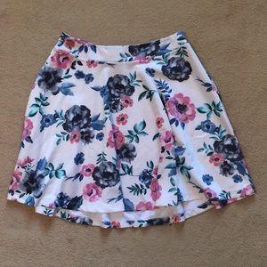 Torrid Floral Skirt